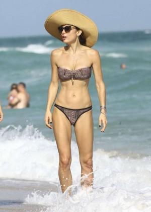 Bethenny Frankel in Bikini on Miami Beach