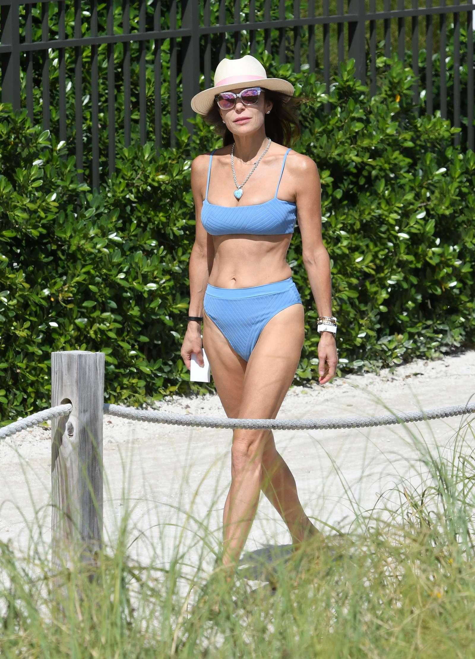 Bethenny Frankel 2019 : Bethenny Frankel in Blue Bikini 2019 -01