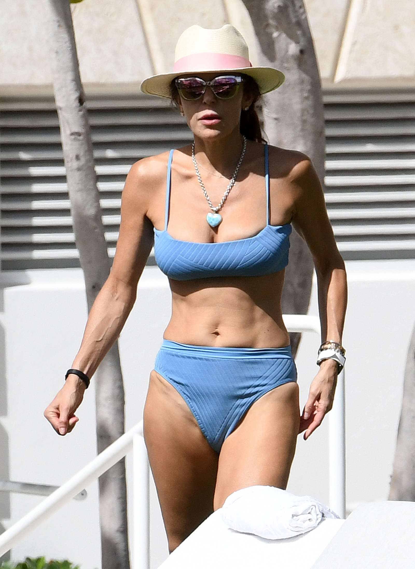 Bethenny Frankel 2019 : Bethenny Frankel in Blue Bikini 2019 -06