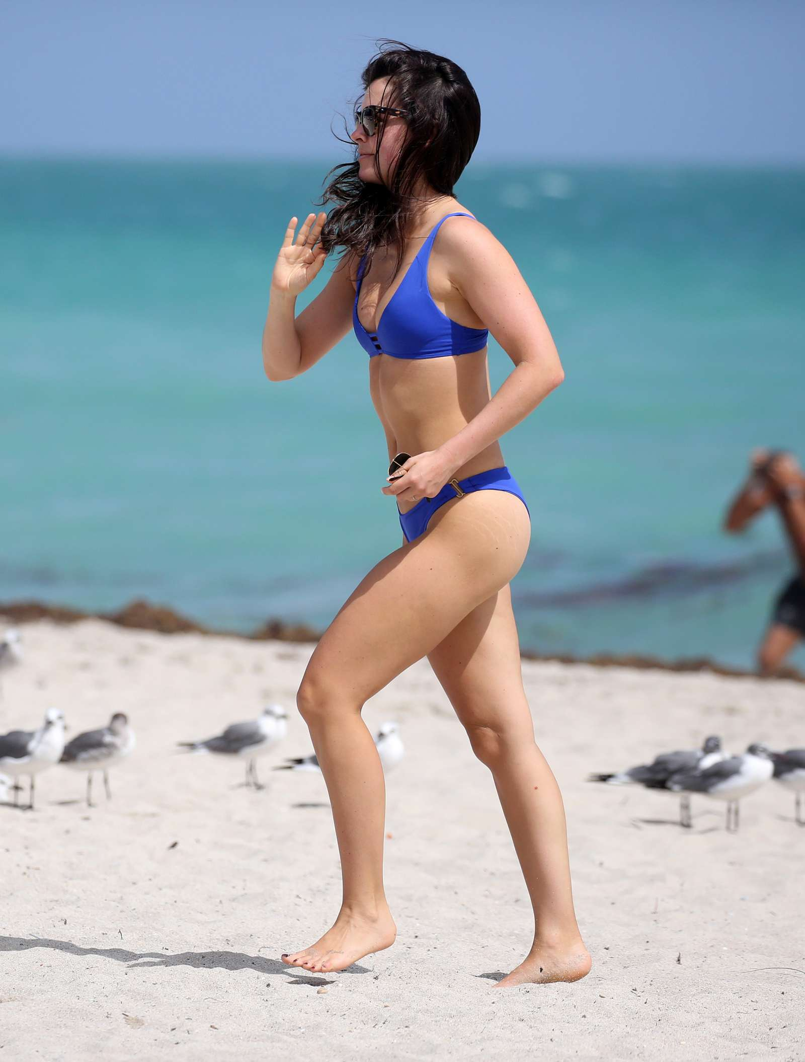 Bethenny Frankel 2019 : Bethenny Frankel in Blue Bikini 2019 -07