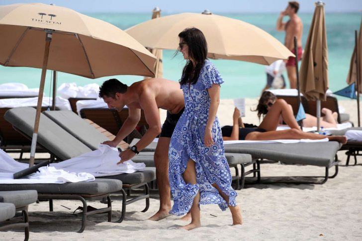 Bethenny Frankel 2019 : Bethenny Frankel in Blue Bikini 2019 -13