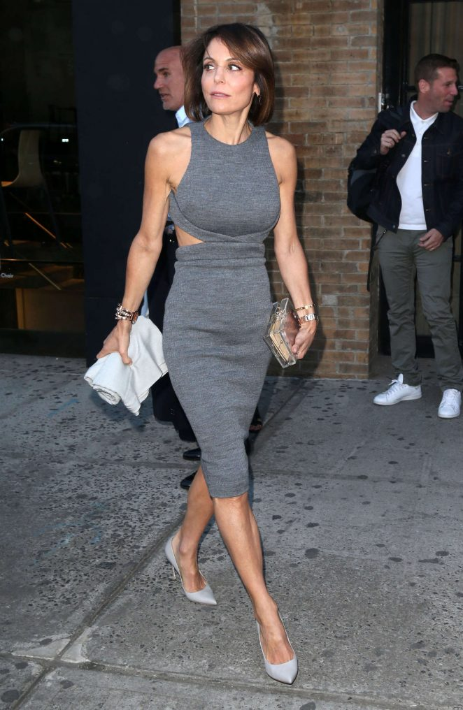 Bethenny Frankel In Dress Out Nyc