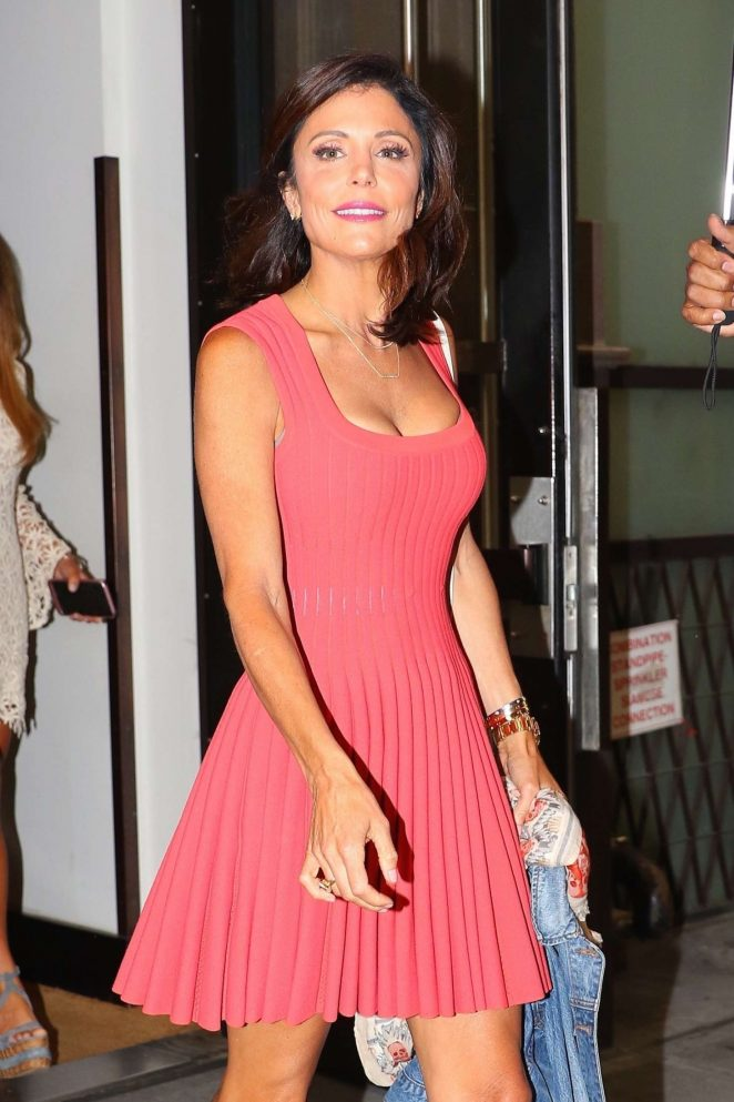 Bethenny Frankel out for dinner in New York City