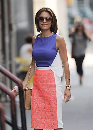 Bethenny Frankel out in Manhattan