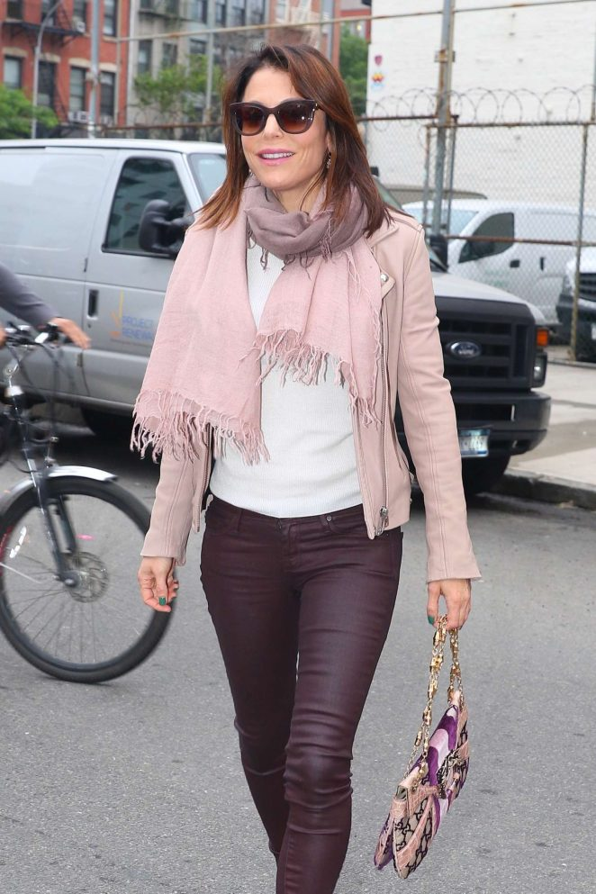 Bethenny Frankel out in New York