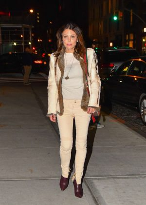Bethenny Frankel out in NYC