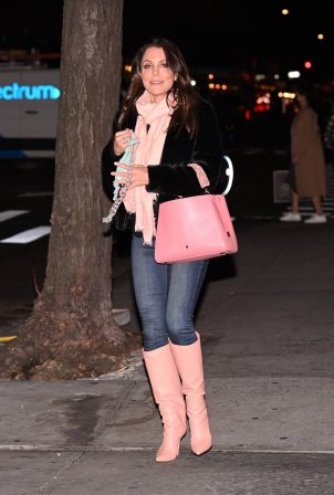 Bethenny Frankel - Seen after having dinner in New York