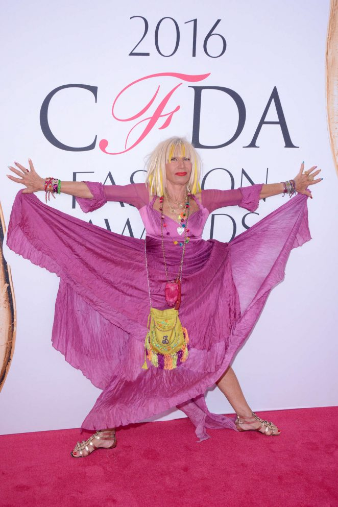 Betsey Johnson - 2016 CFDA Fashion Awards in New York