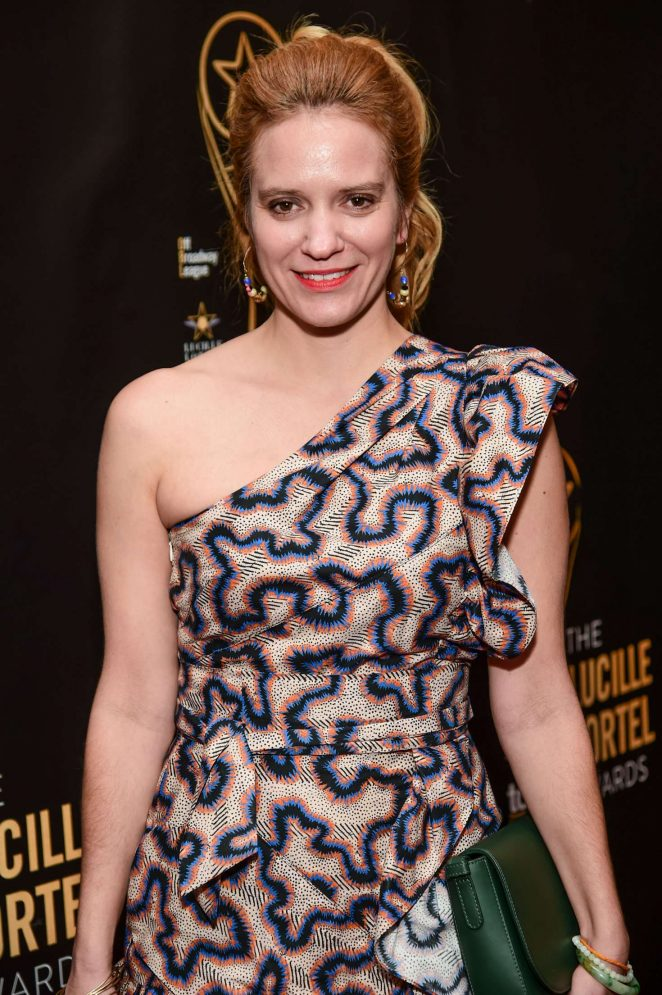 Betsy Morgan - 32nd Annual Lucille Lortel Awards in NY