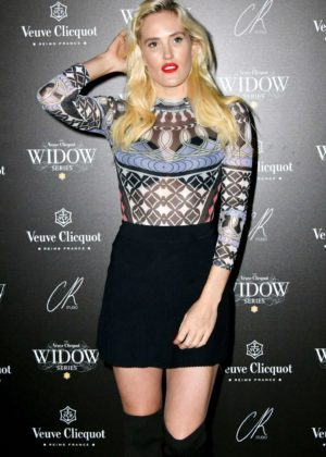 Betsy - The Veuve Clicquot Widow Series VIP launch party in London