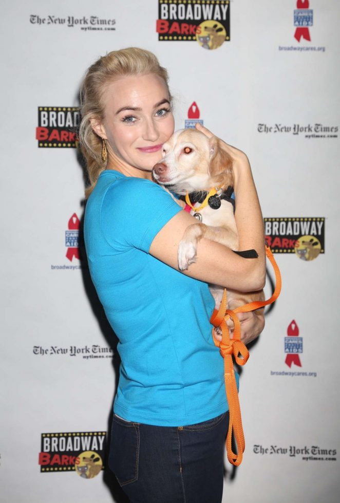 Betsy Wolfe - 19th Annual Broadway Barks Animal Adoption Event in NY