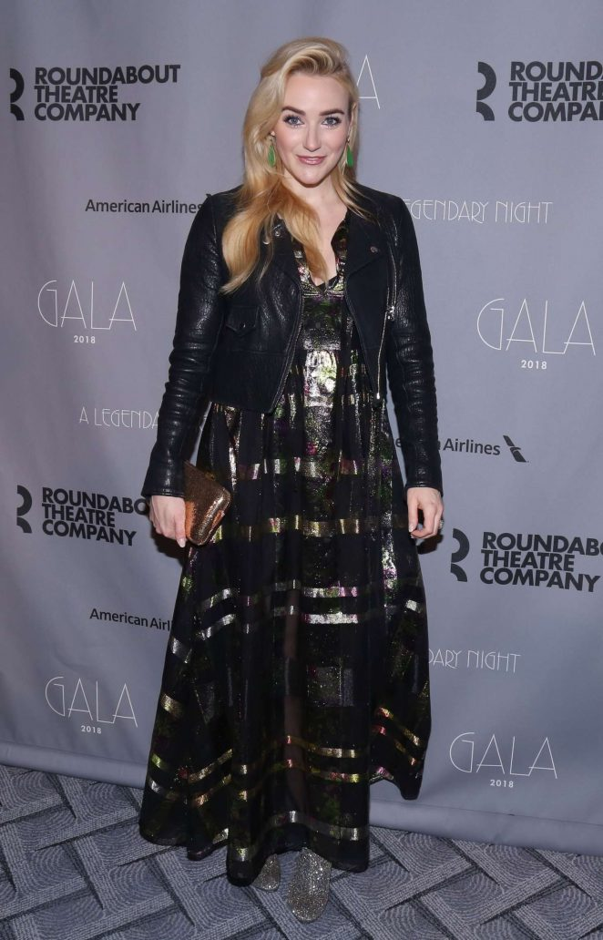 Betsy Wolfe - 2018 Roundabout Theatre Company Gala in NYC