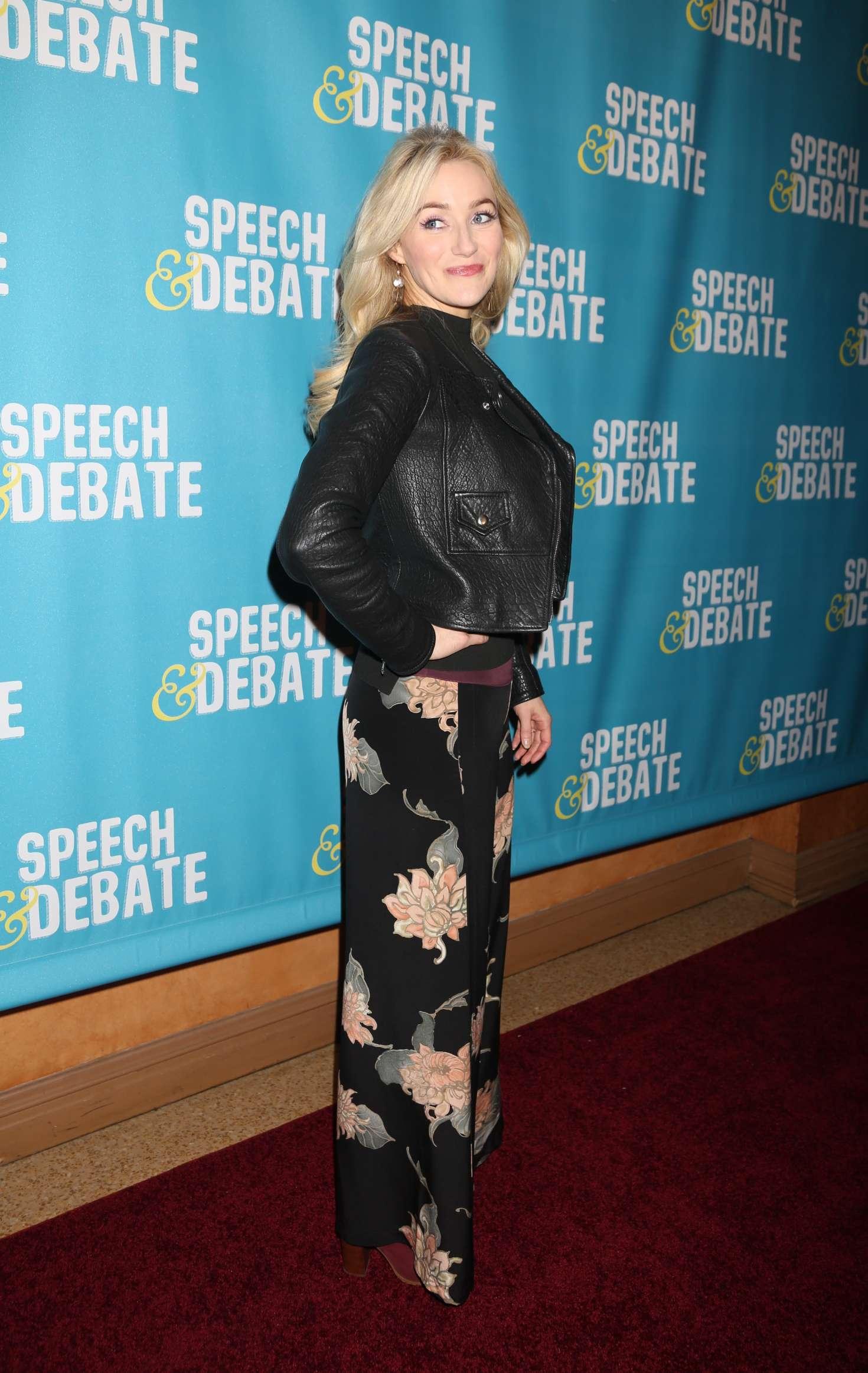 Betsy Wolfe - 'Speech & Debate' Premiere in New York