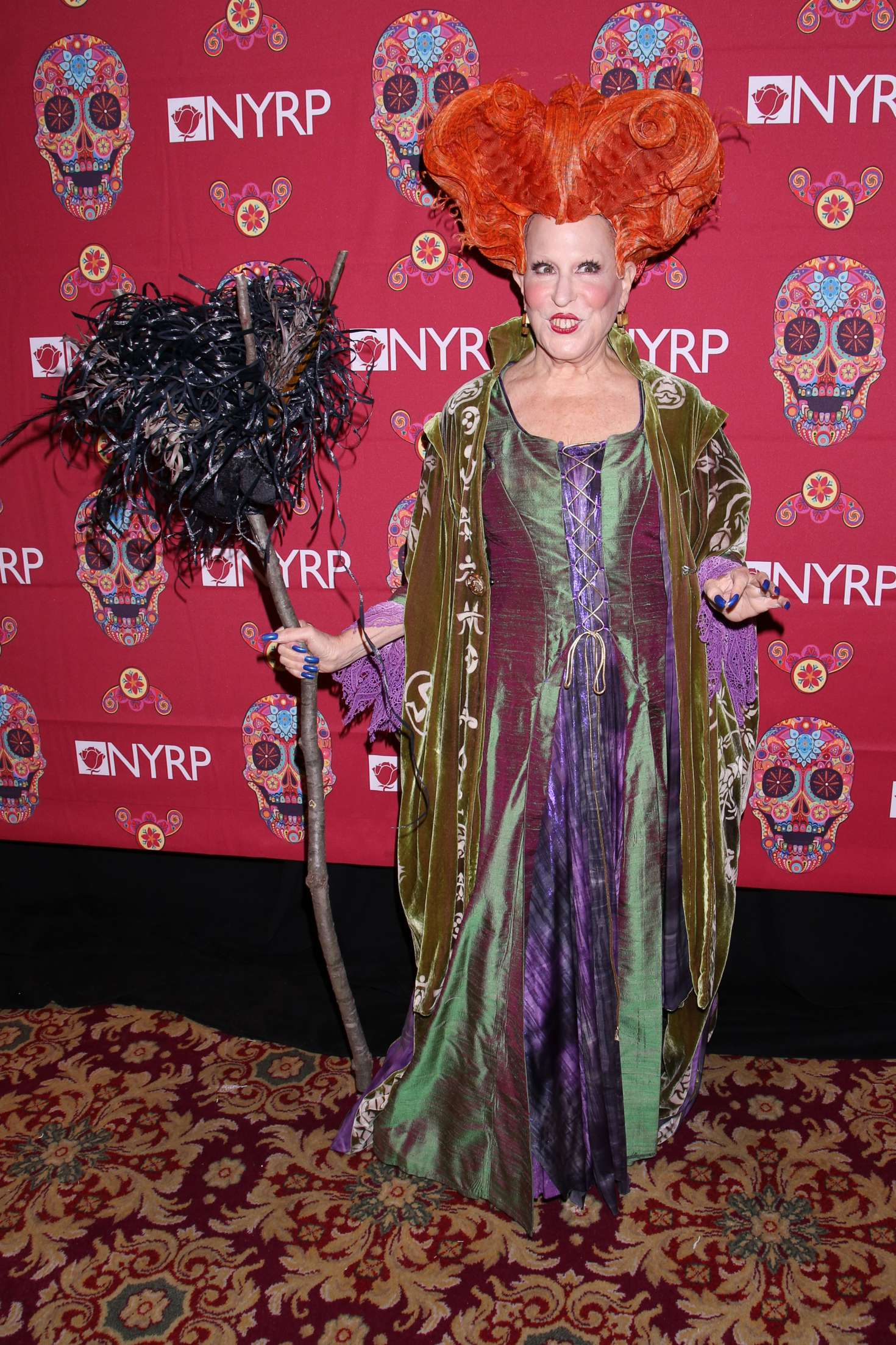 Bette Midler 2016 : Bette Midler: 2016 Halloween Bash to benefit the NYRP -01