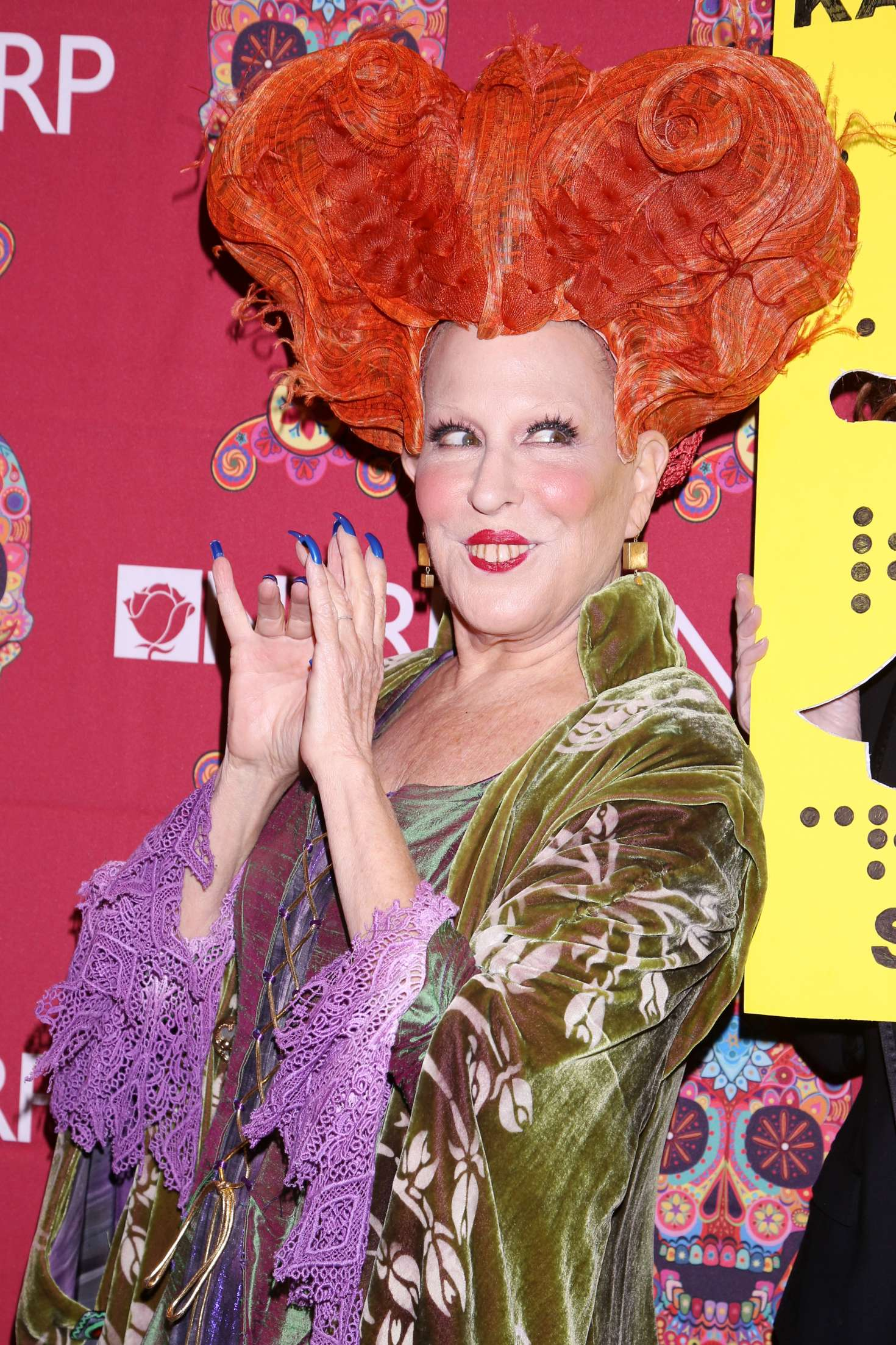 Bette Midler 2016 : Bette Midler: 2016 Halloween Bash to benefit the NYRP -02