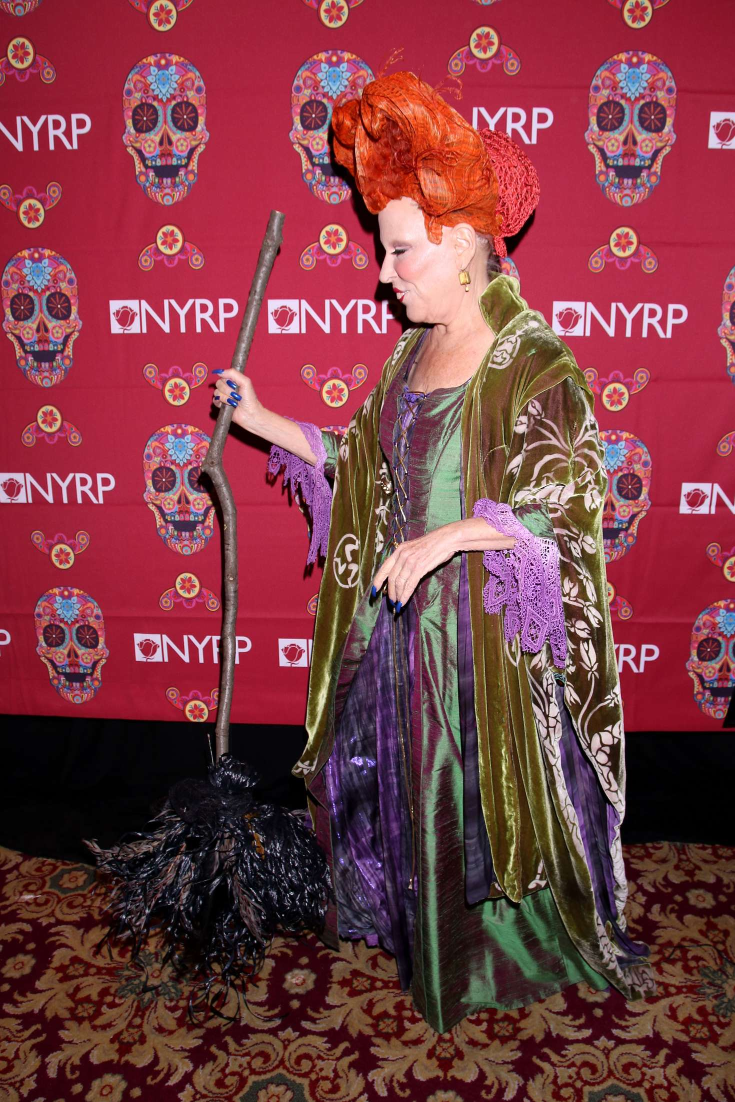 Bette Midler 2016 : Bette Midler: 2016 Halloween Bash to benefit the NYRP -04