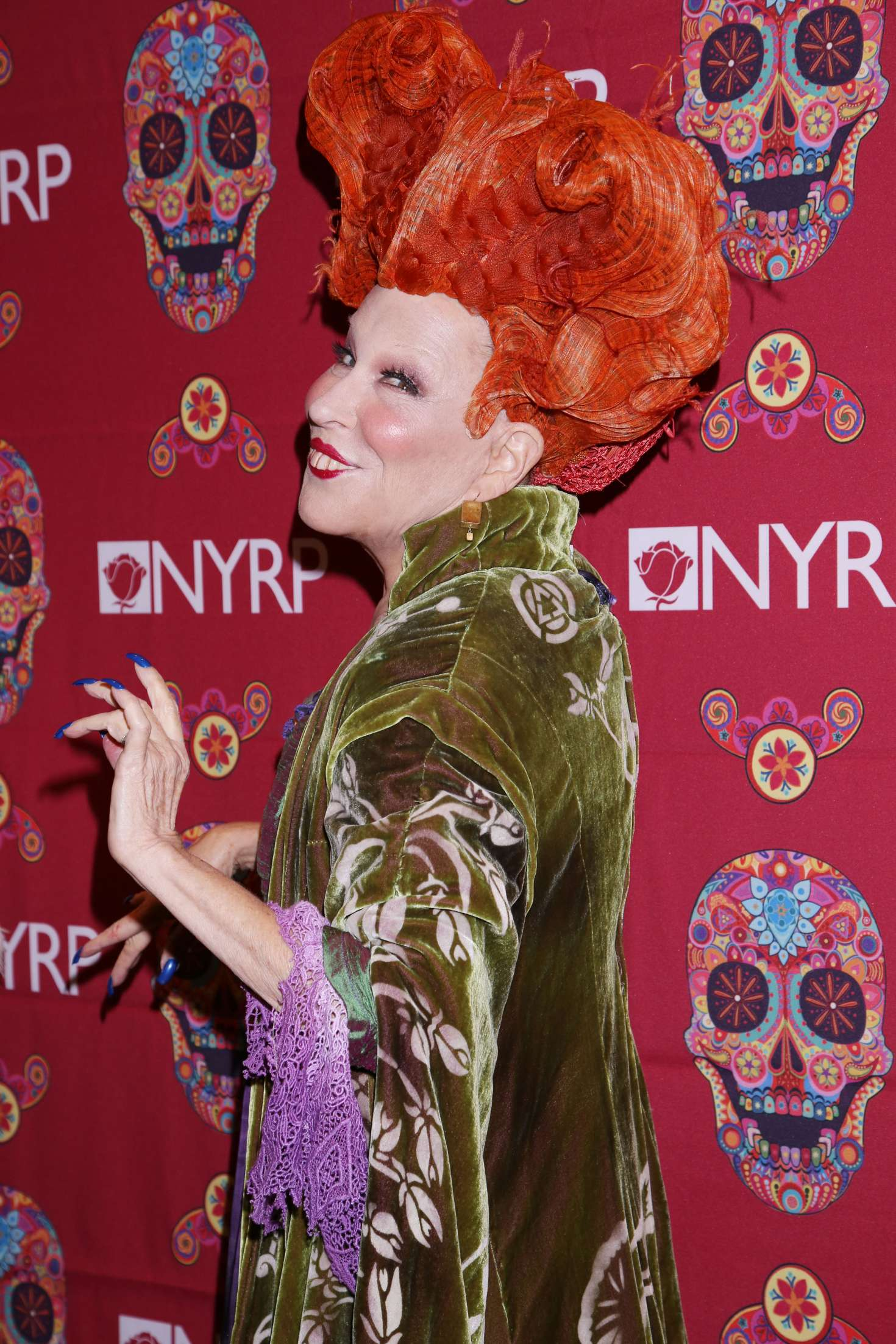 Bette Midler 2016 : Bette Midler: 2016 Halloween Bash to benefit the NYRP -05