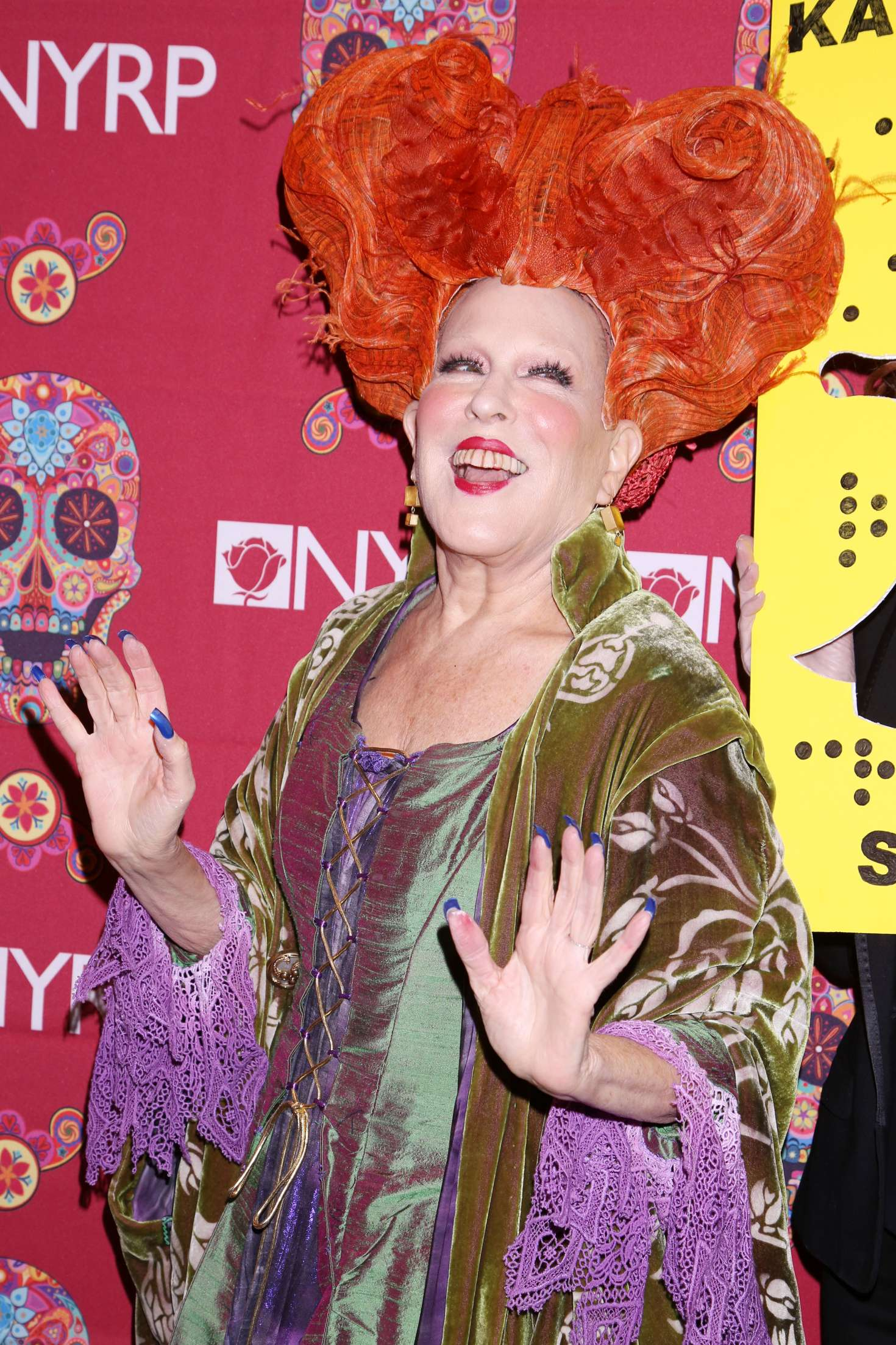 Bette Midler 2016 : Bette Midler: 2016 Halloween Bash to benefit the NYRP -06