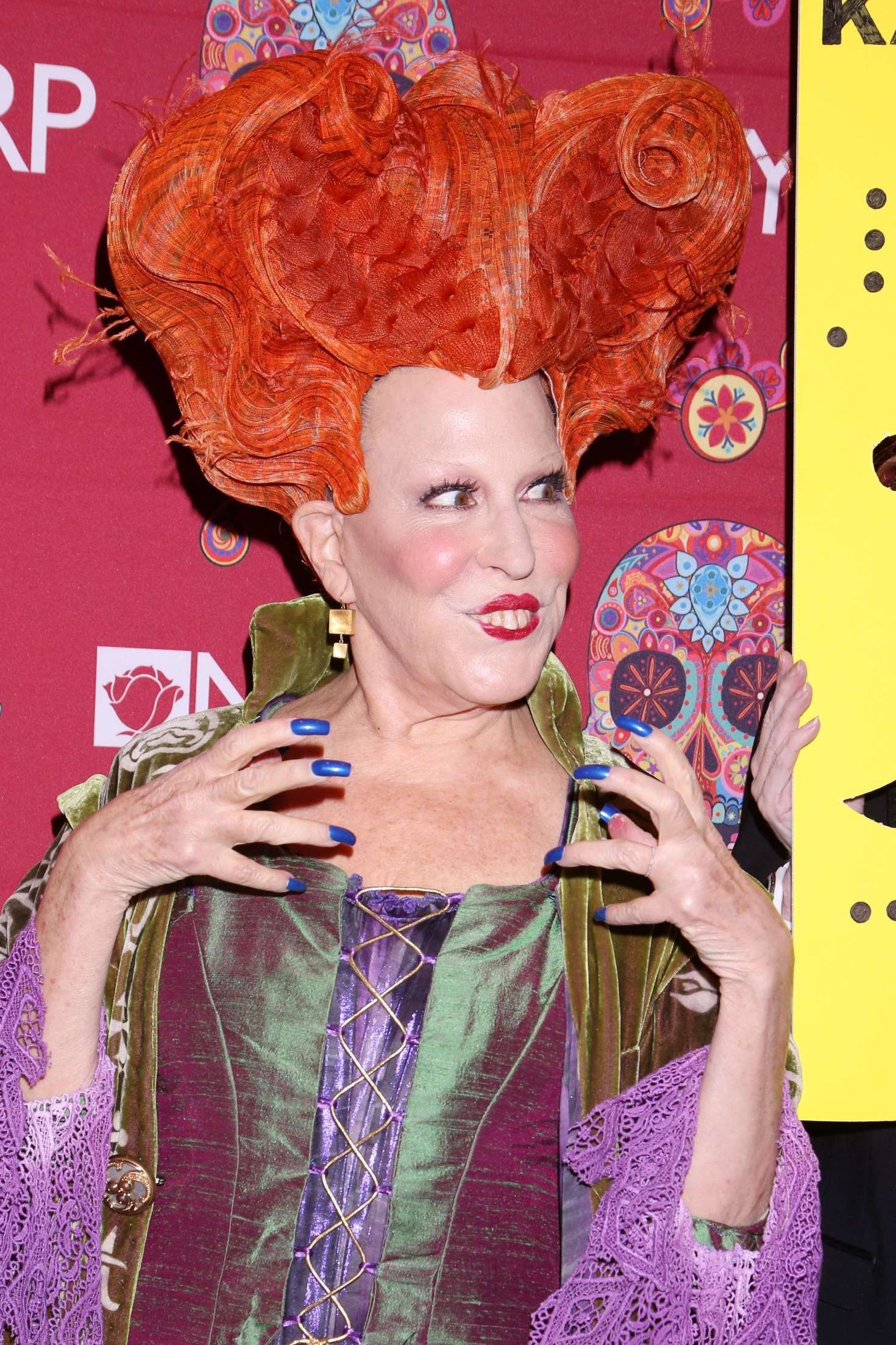 Bette Midler 2016 : Bette Midler: 2016 Halloween Bash to benefit the NYRP -09