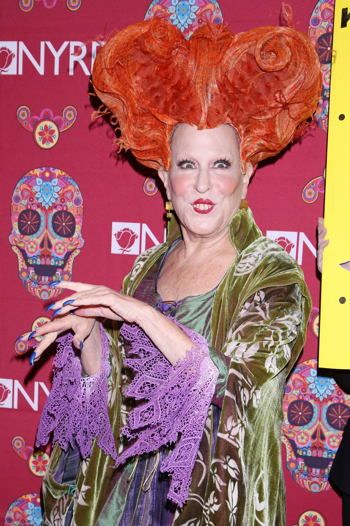 Bette Midler - 2016 Halloween Bash to benefit the NYRP in NYC