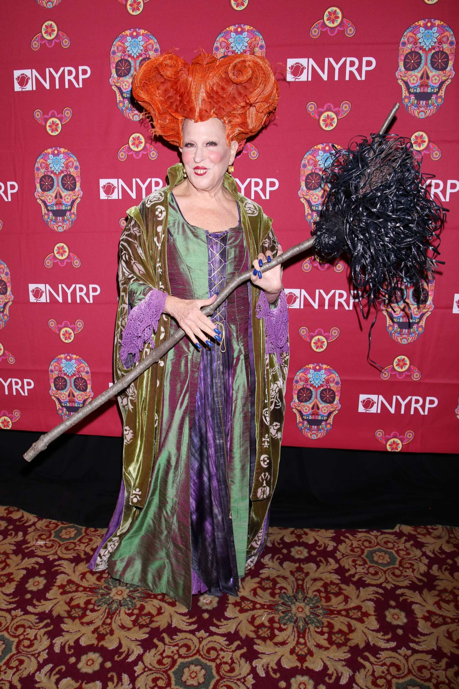 Bette Midler 2016 : Bette Midler: 2016 Halloween Bash to benefit the NYRP -14