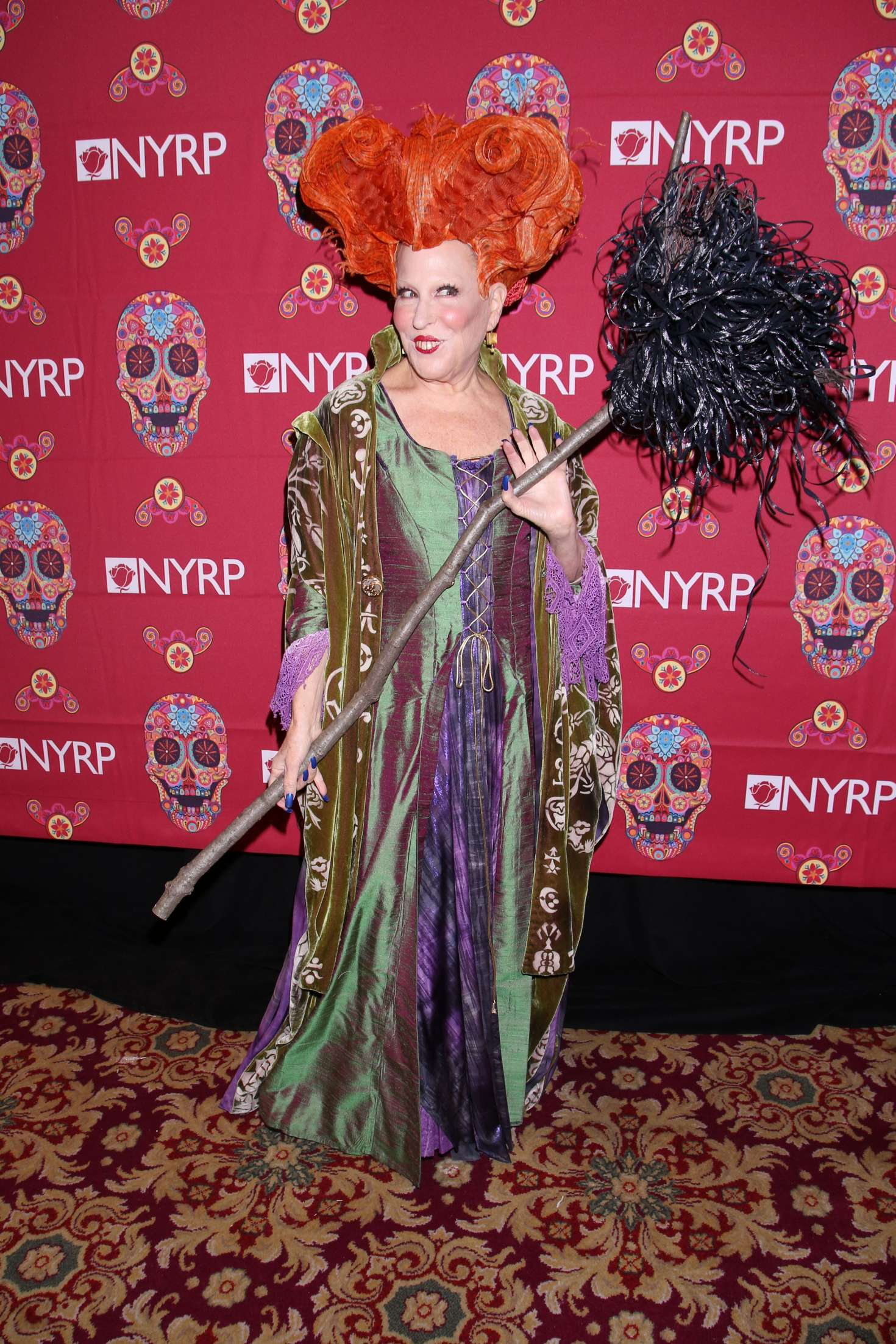 Bette Midler 2016 : Bette Midler: 2016 Halloween Bash to benefit the NYRP -15