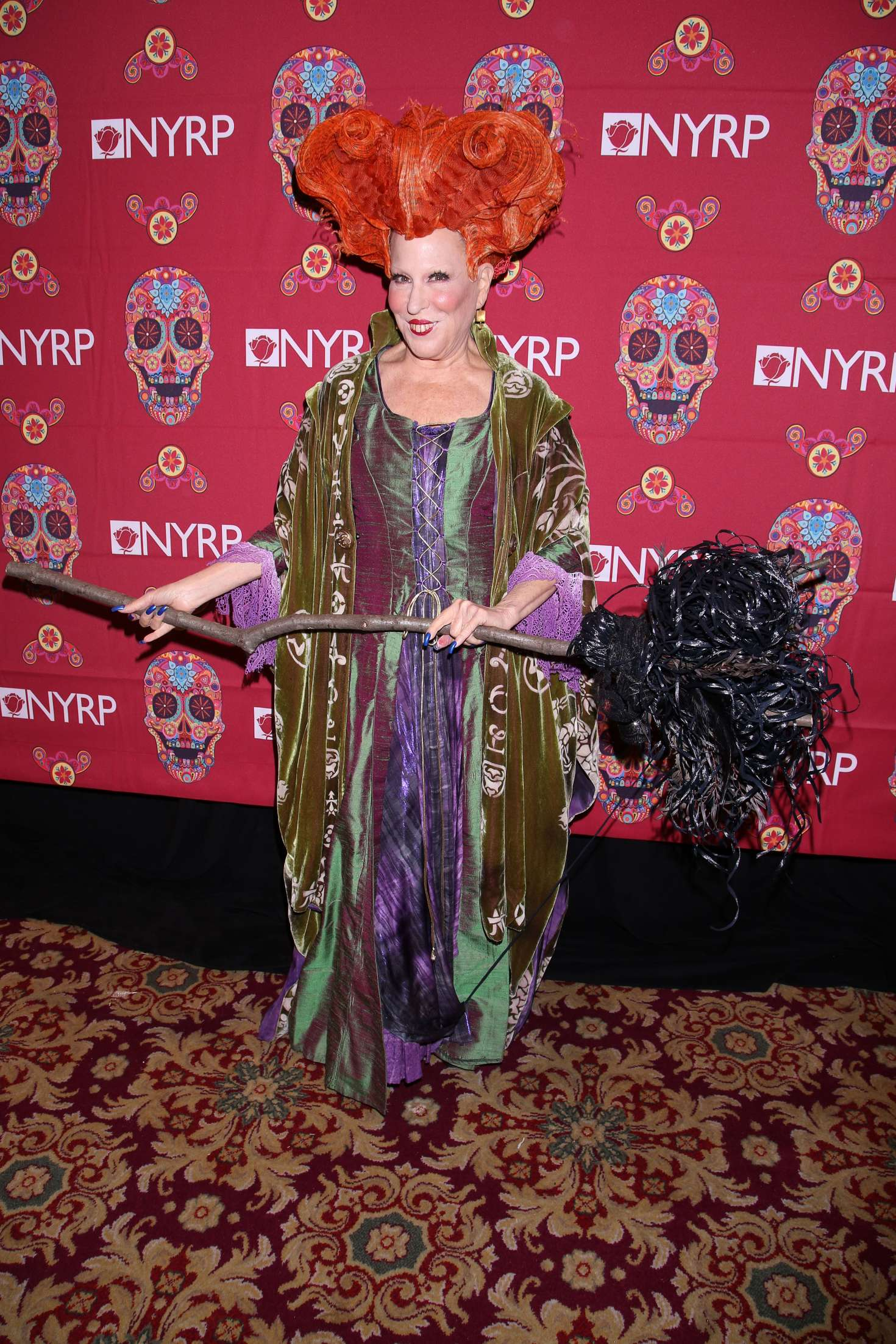 Bette Midler 2016 : Bette Midler: 2016 Halloween Bash to benefit the NYRP -18