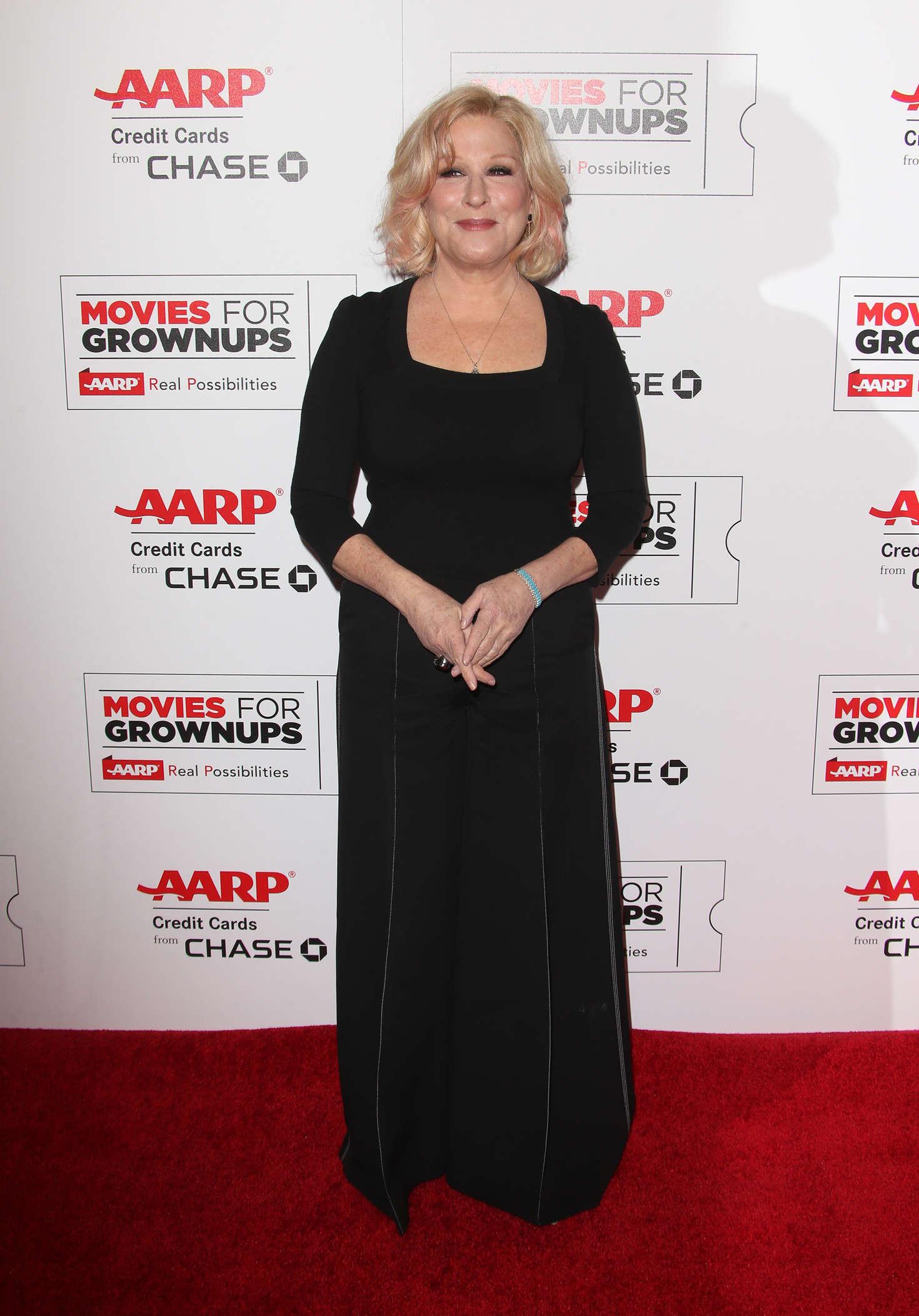 Bette Midler 2016 : Bette Midler: AARPs Movie For GrownUps Awards -07