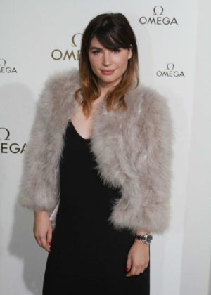 Betty Autier – Omega Her Time Exhibition Launch Party in Paris