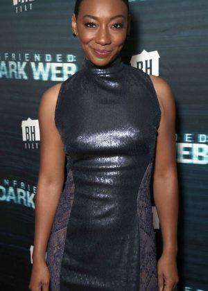 Betty Gabriel - 'Unfriended Dark Web' Premiere in Los Angeles