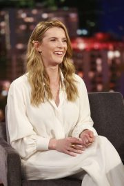 Betty Gilpin - On 'Jimmy Kimmel Live!' in Los Angeles