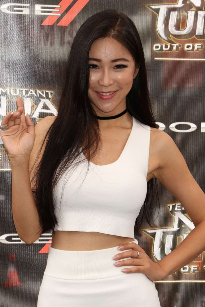 Betty Zhou - 'Teenage Mutant Ninja Turtles: Out Of The Shadows' Premiere in NYC