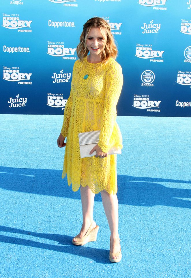 Beverley Mitchell - 'Finding Dory' Premiere in Hollywood