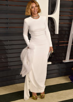 Beyonce - 2015 Vanity Fair Oscar Party in Hollywood