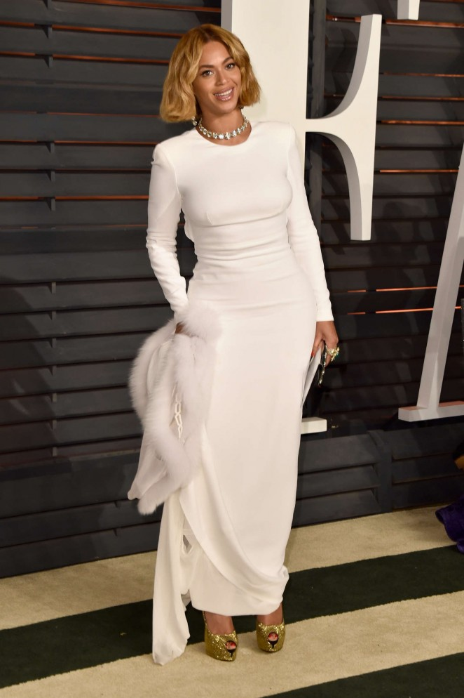 Beyonce – 2015 Vanity Fair Oscar Party in Hollywood