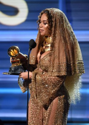 Beyonce - 59th GRAMMY Awards in Los Angeles