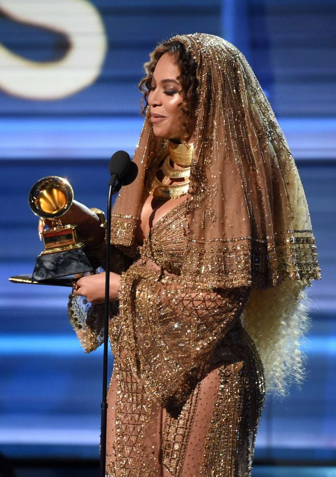 Beyonce – 59th GRAMMY Awards in Los Angeles