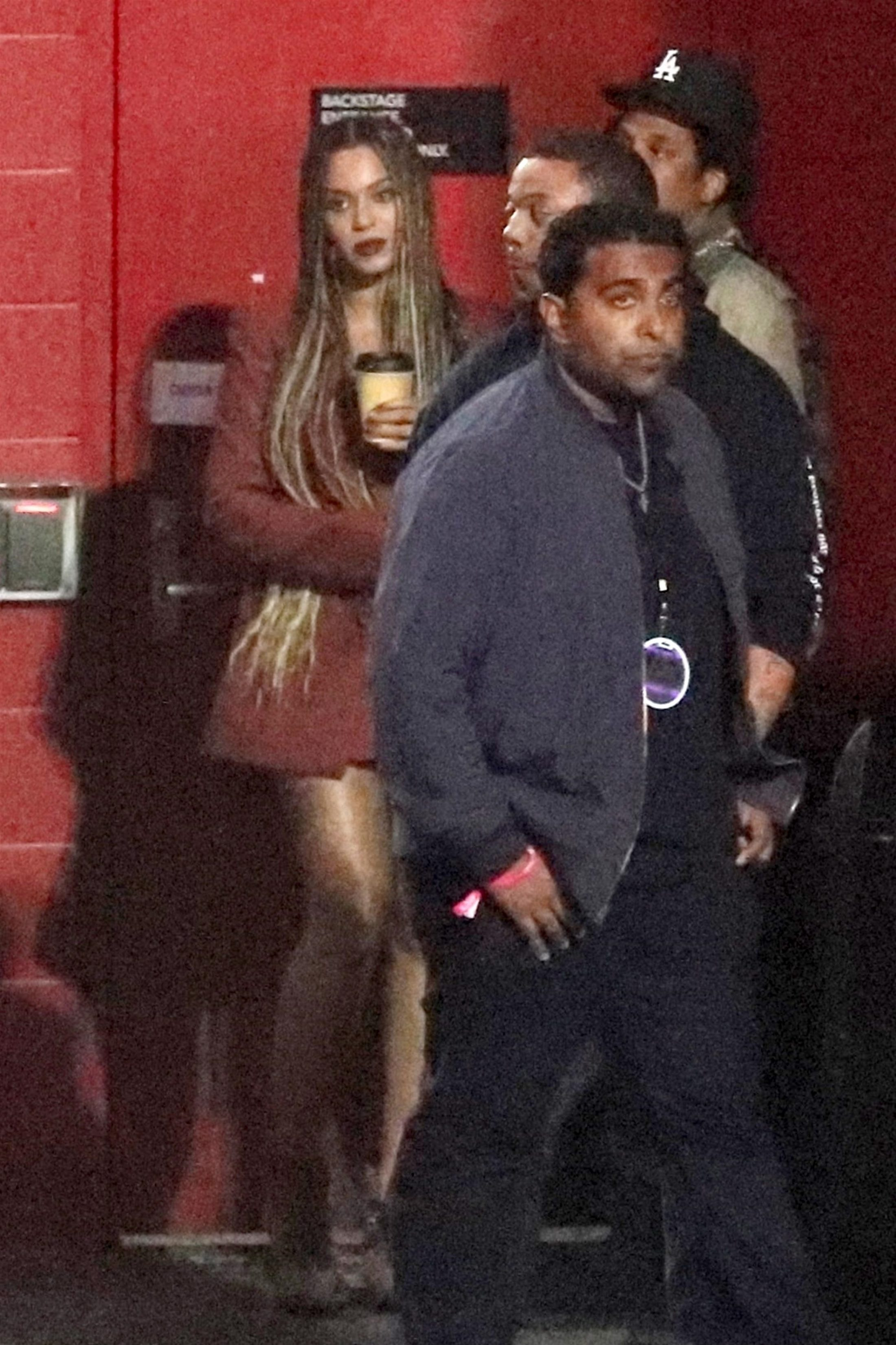Beyonce 2018 : Beyonce and Jay-Z at the Travis Scott Concert -01