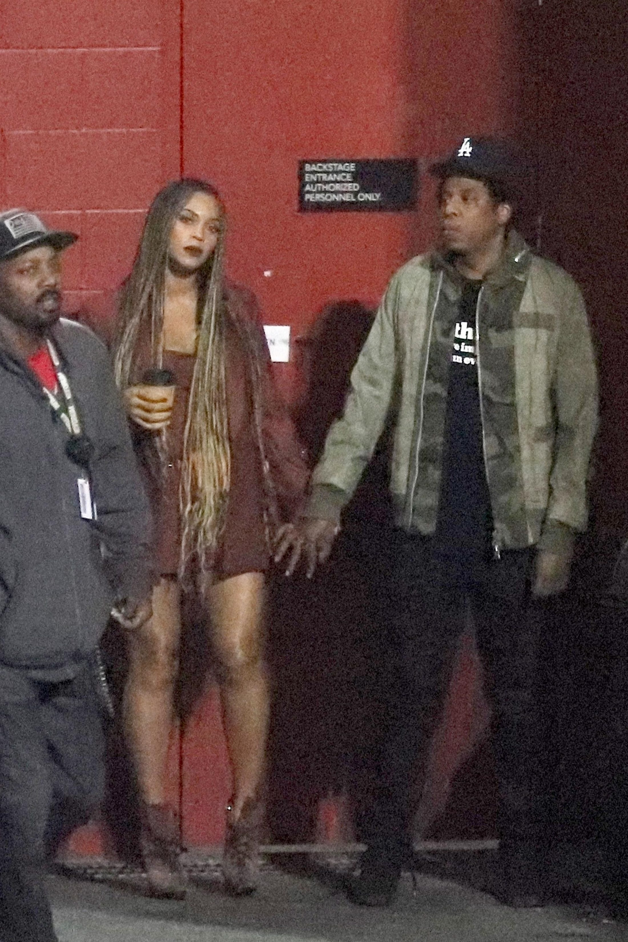 Beyonce 2018 : Beyonce and Jay-Z at the Travis Scott Concert -02