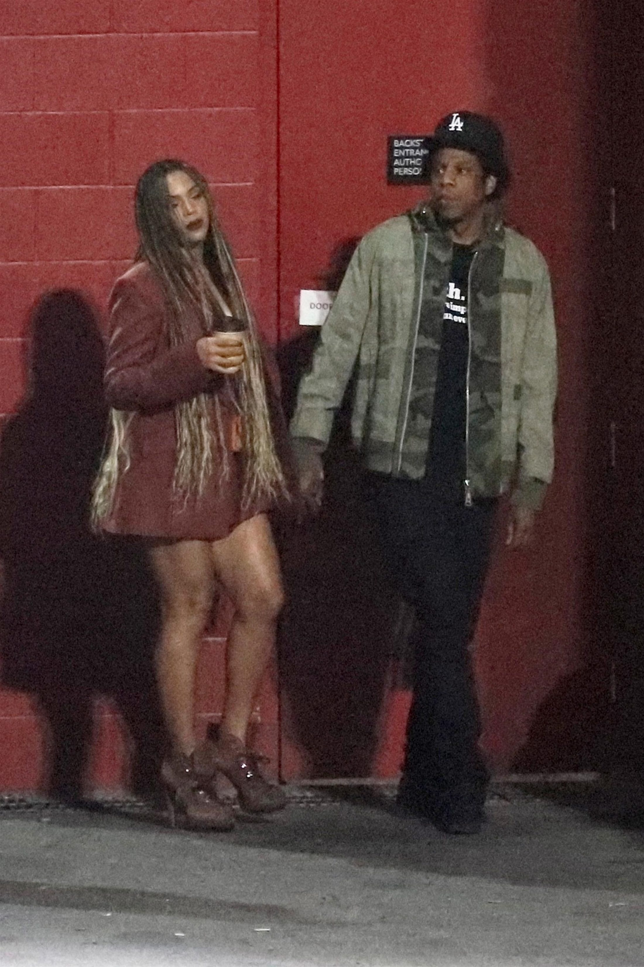 Beyonce 2018 : Beyonce and Jay-Z at the Travis Scott Concert -05