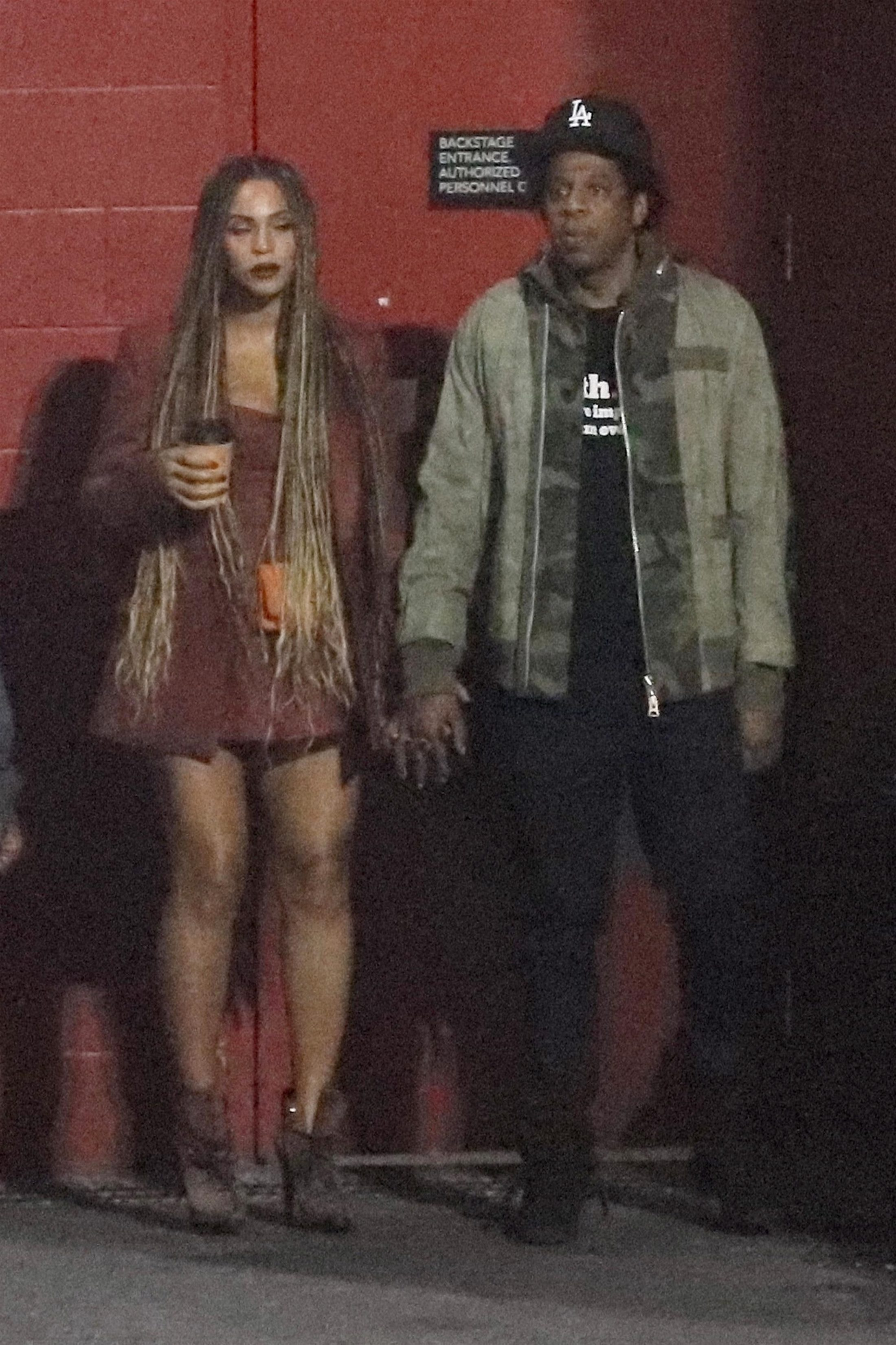 Beyonce 2018 : Beyonce and Jay-Z at the Travis Scott Concert -06