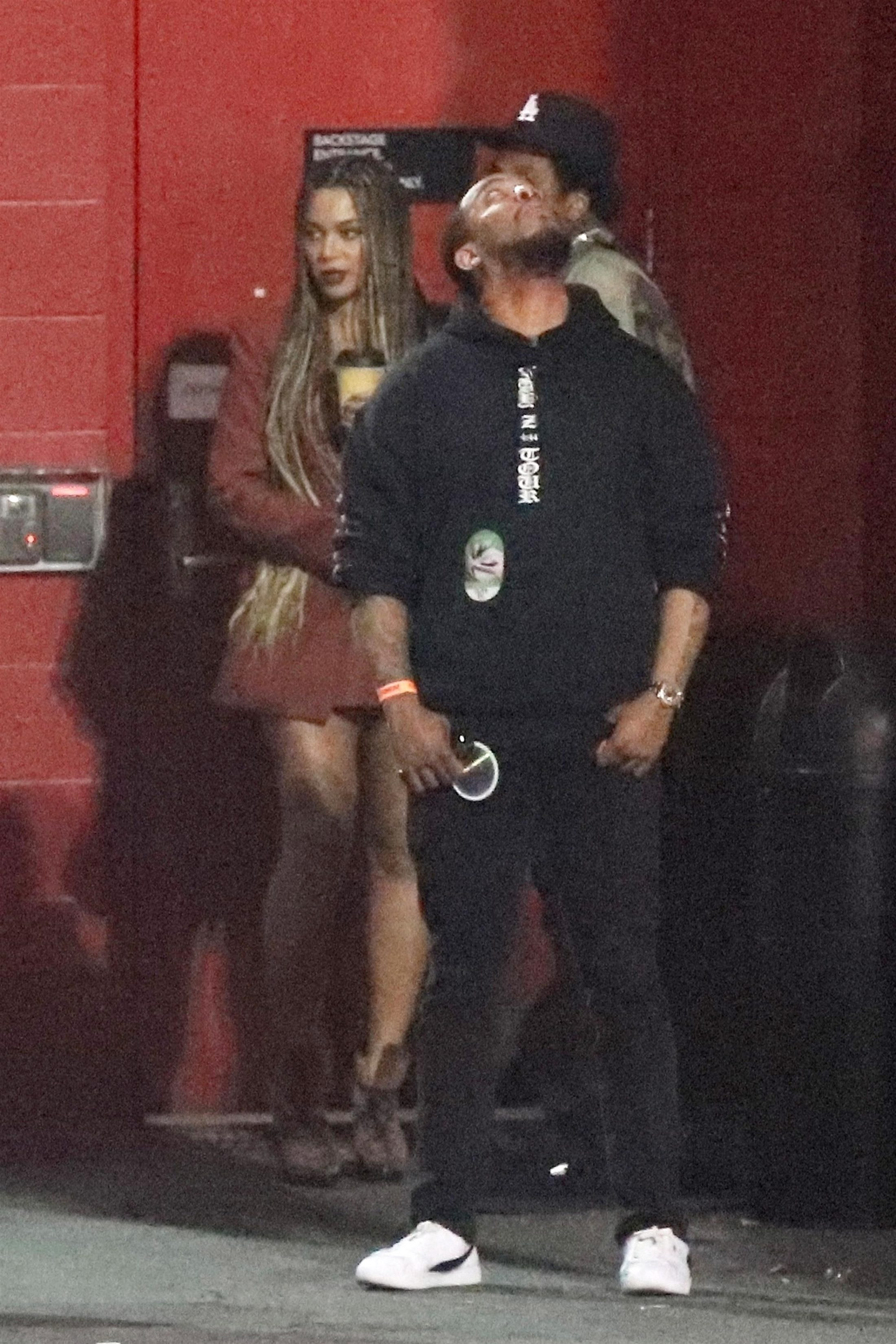 Beyonce 2018 : Beyonce and Jay-Z at the Travis Scott Concert -07