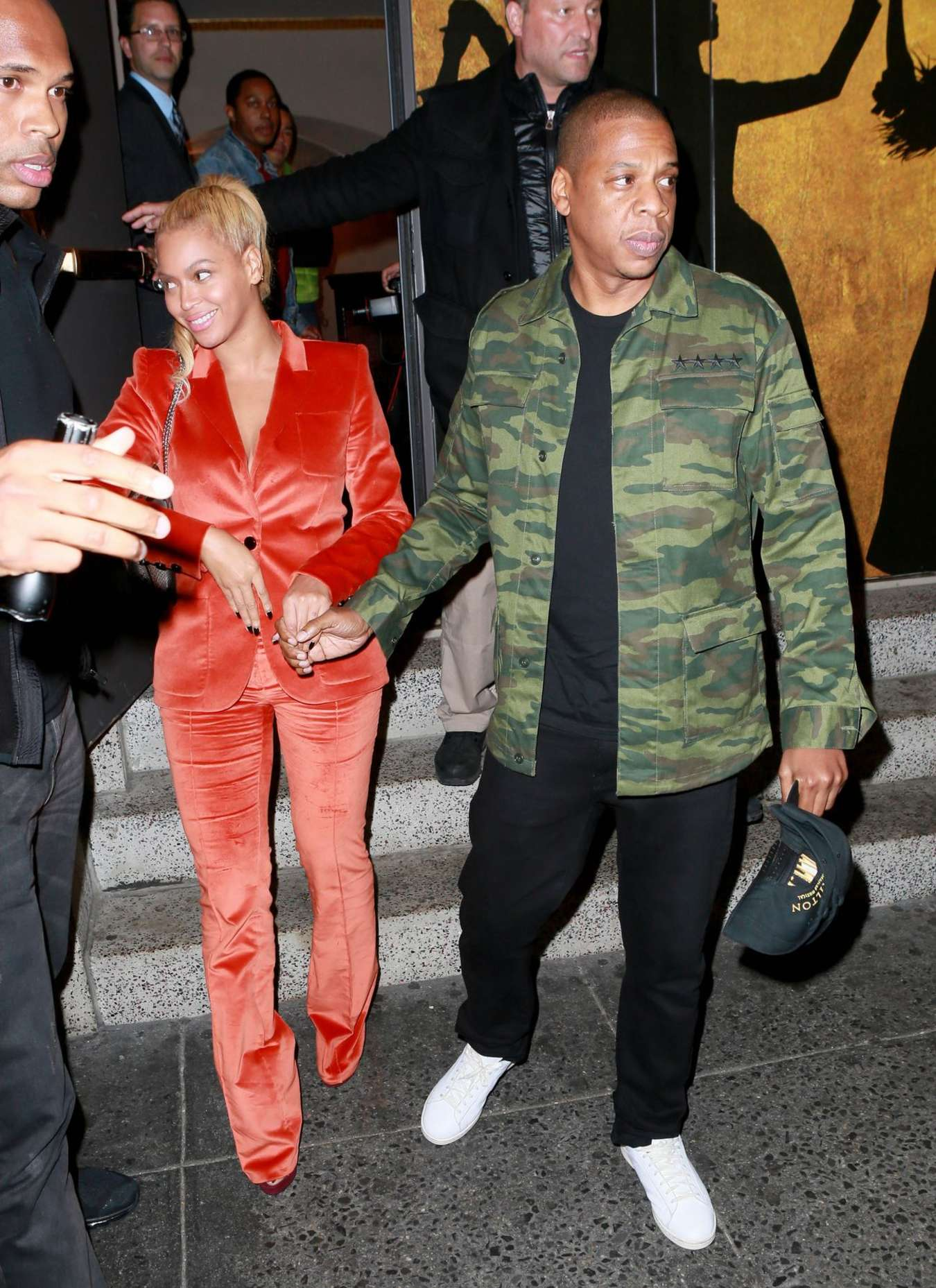 Beyonce 2015 : Beyonce and Jay-Z: Leaves Hamilton Musical -01