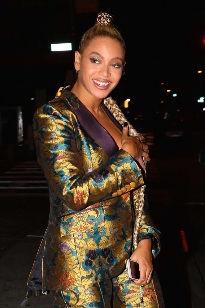 Beyonce at Pasquale Jones in New York