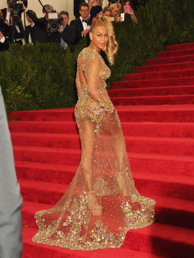 Beyonce: MET Gala 2015 -15