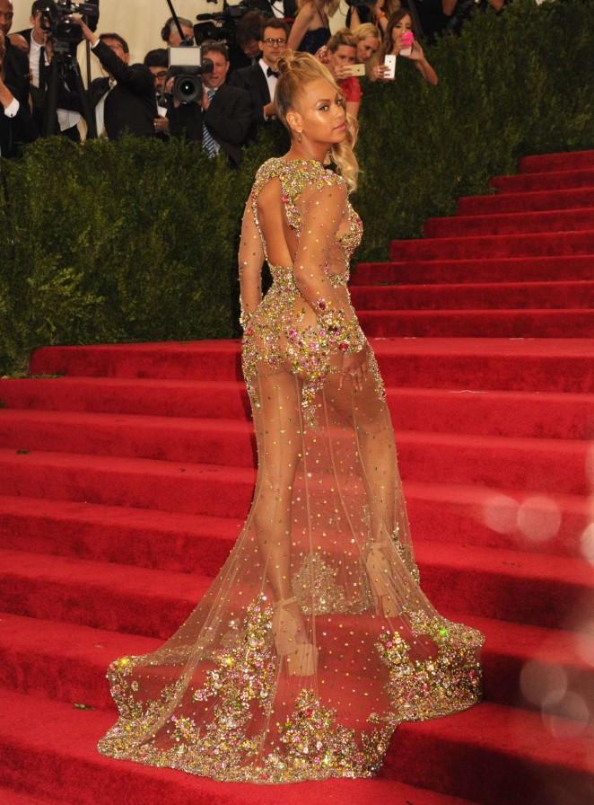 Beyonce: MET Gala 2015 -18