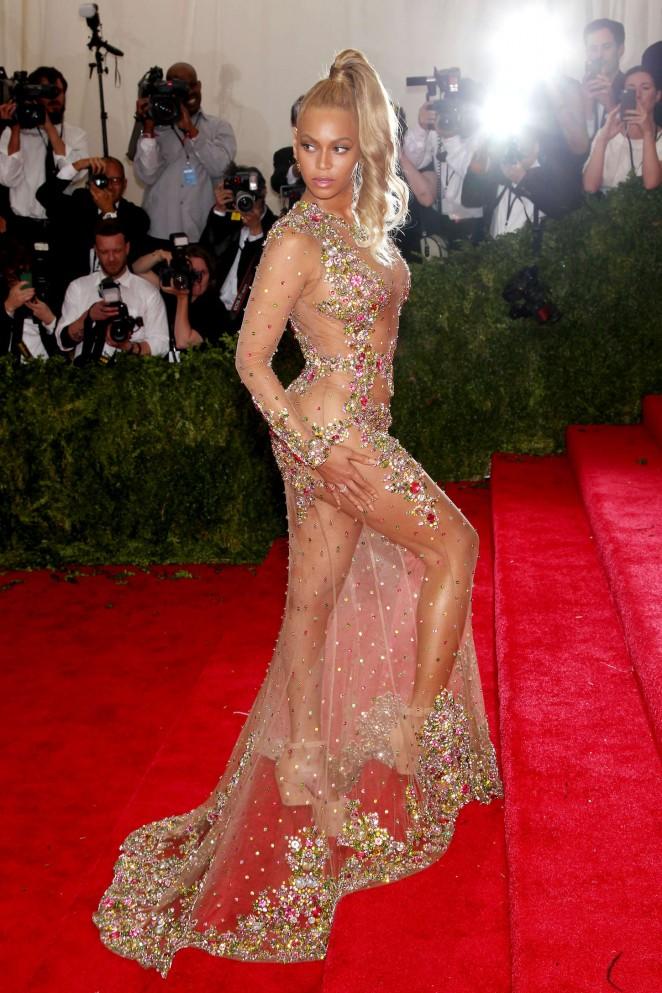 Beyonce: MET Gala 2015 -35