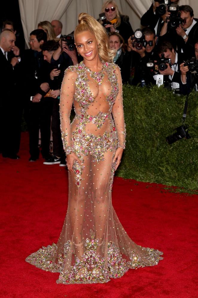 Beyonce: MET Gala 2015 -37