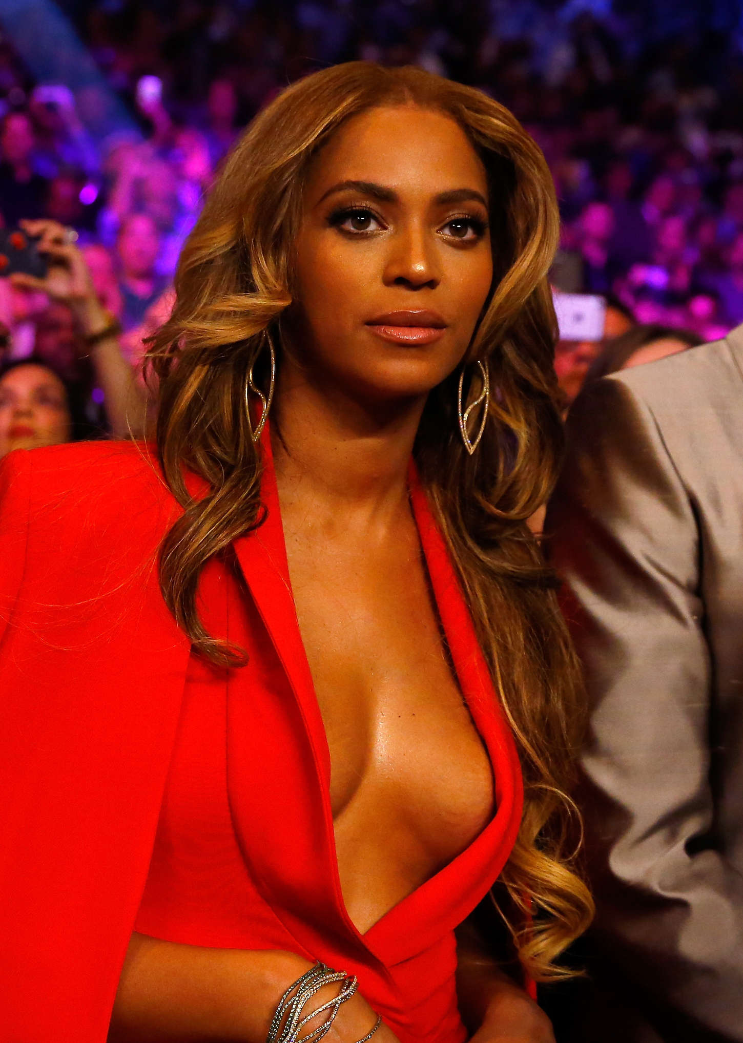 Beyonce Floyd Mayweather Vs Manny Pacquiao Fight In Las