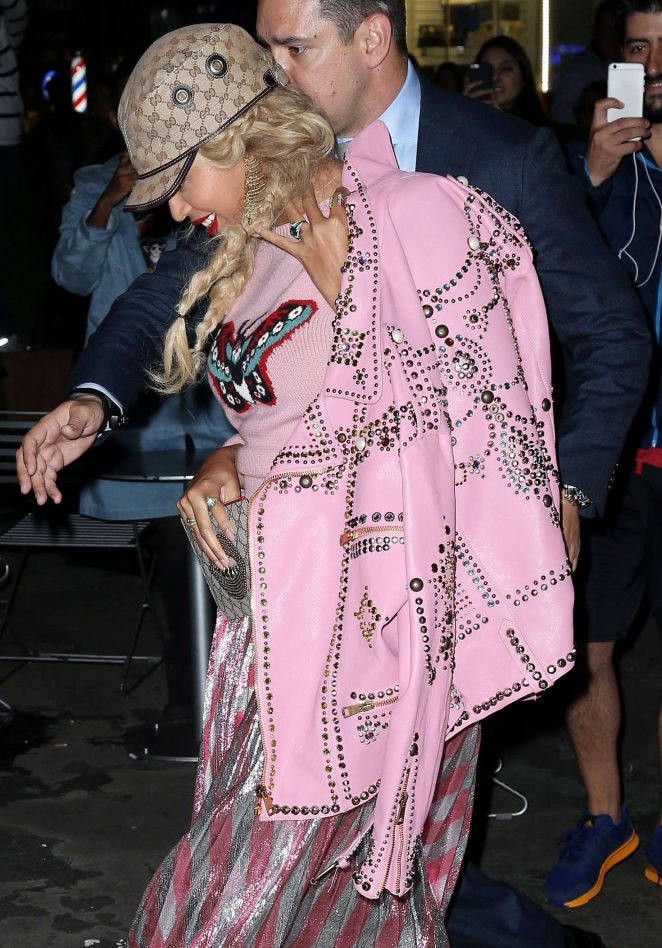 Beyonce in Pink out and about in New York City